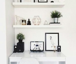 room, decor, and home image