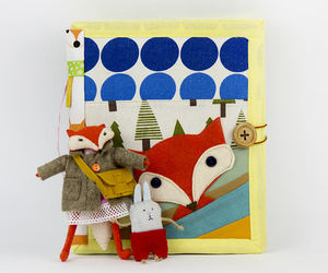 etsy, fox, and dress up doll image