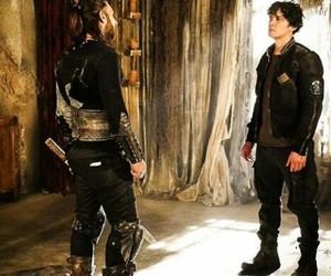 bts, the 100, and bob morley image