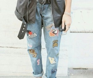 beautiful, jeans, and denim image