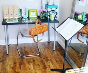 bag, room, and flute image
