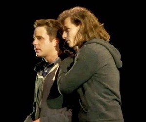 ben platt, mike faist, and connor murphy image
