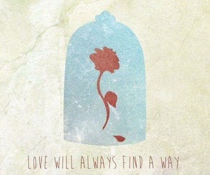 disney, quotes, and rose image