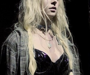 beauty, black, and concert image