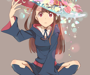 anime, little witch academia, and art image