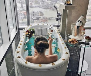 luxury, bath, and fashion image