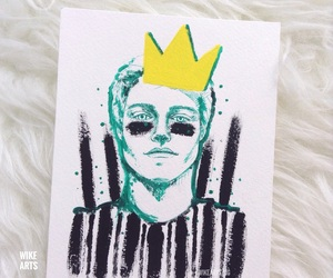 crown, fan art, and netflix image
