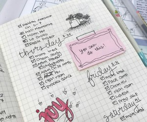 art, diary, and motivation image