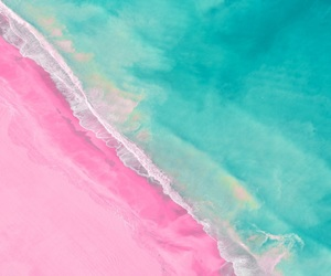 above, beach, and colorful image