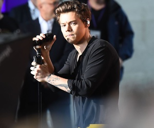 singer, Harry Styles, and one direction image