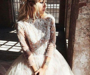 beauty, dresses, and white image