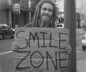 smile, ZONE, and happy image