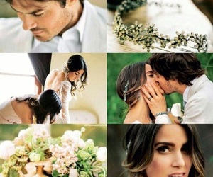 wedding, ian somerhalder, and love image