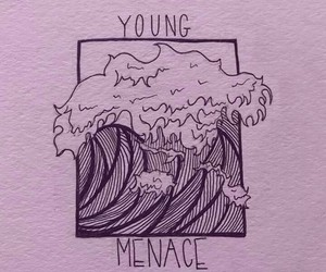 fall out boy and young and menace image