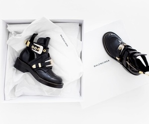 style, Balenciaga, and black image