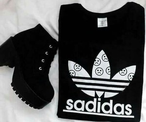 adidas, black, and boots image