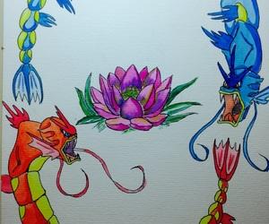 balance, lotus, and magikarp image