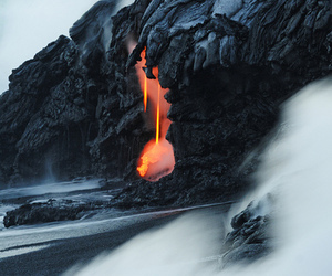 lava, beautiful, and nature image