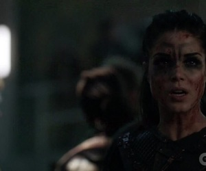harper, the 100, and clarke griffin image