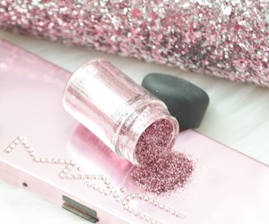 glitter, make up, and sparkle image
