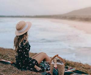 travel, wanderlust, and beach image
