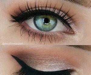 makeup, beautiful, and make up image