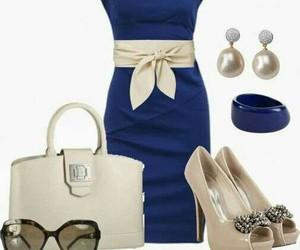 blue beige combination image