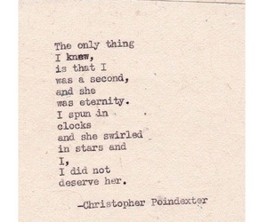 eternity, quote, and christopher poindexter image