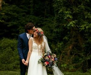 casal, casamento, and couple image