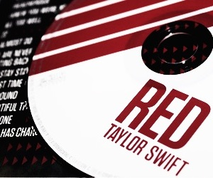 red and album image