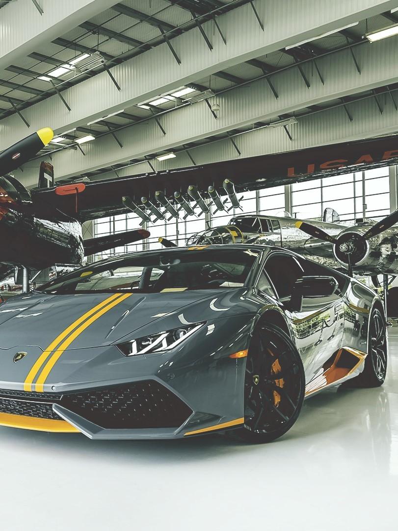 Lamborghini, supercars, and huràcan image