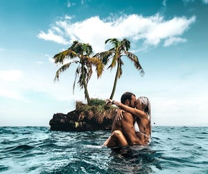 couple, summer, and life image