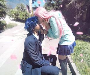 anime, anime girl, and basket image