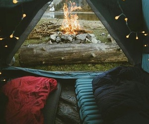adventure, nature, and camping image