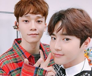 exo, suho, and Chen image