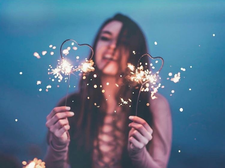 aesthetic, fireworks, and girls image