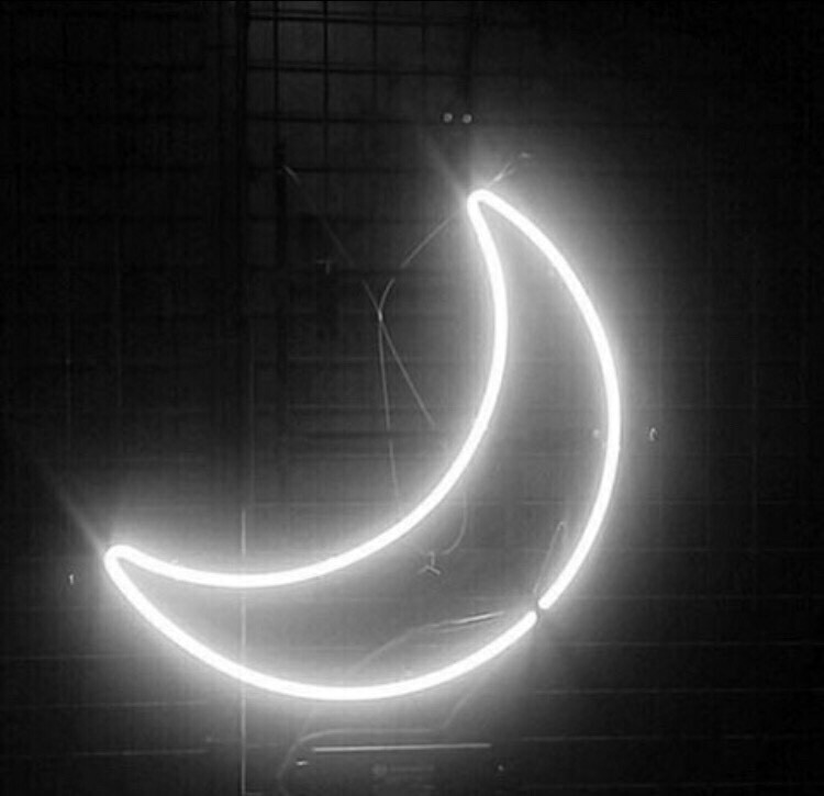 Black Aesthetic Images Neon Black Aesthetic Moon Uploaded By Unhappy On We Heart It black aesthetic moon uploaded by