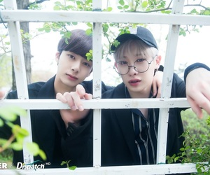 monsta x, wonho, and hyungwon image