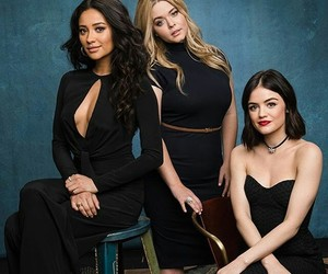 lucy hale, sasha pieterse, and shay mitchell image