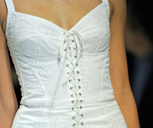 dolce and gabbana, white, and love image
