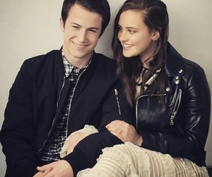 katherine langford, 13 reasons why, and dylan minnette image