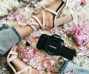 camera, jeans, and fashion image
