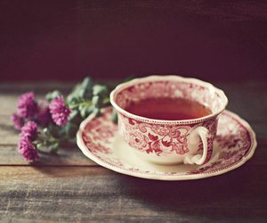 cup, etsy, and flowers image