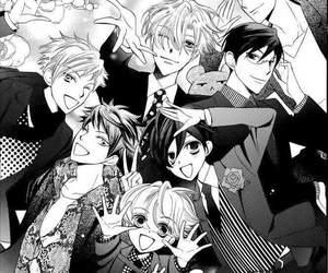 manga and ouran host club image