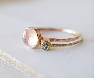 ring, rose, and weddingwednesday image