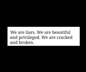 beautiful, book, and we were liars image