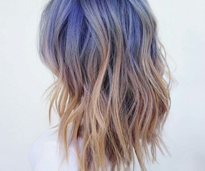 beauty, hair, and shoulder length hair image