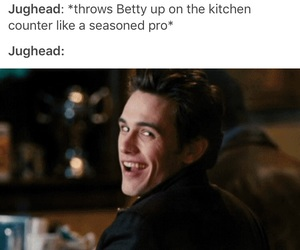 cole, riverdale, and betty cooper image