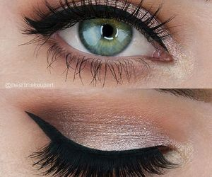 makeup, beautiful, and make up image