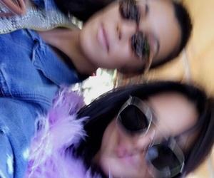 kourtney kardashian, kendall jenner, and snapchat image